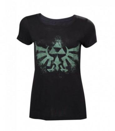 Camiseta chica emblema zelda