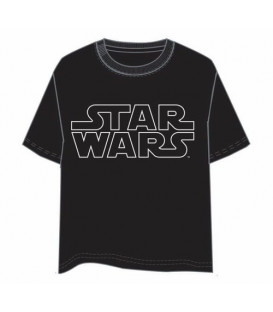 CAMISETA STAR WARS LOGO L