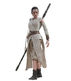 FIGURA REY HOTTOYS STAR WARS 28 CM