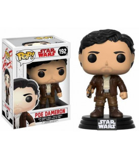 FIGURA POP STAR WARS EPISODIO VIII POE DAMERON