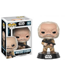 FUNKO POP  WEETEEF CYUBEE ROGUE ONE