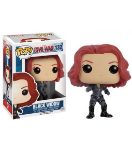 FUNKO POP VIUDA NEGRA CIVIL WAR