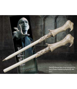BOLIGRAFO Y MARCAPAGINAS HARRY POTTER VOLDEMORT