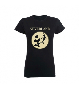 CAMISETA CHICA PETER PAN NEVERLAND