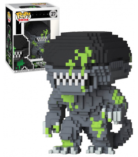 FUNKO POP ALIEN SALPICADO 8- BIT