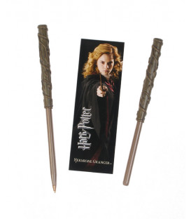 BOLIGRAFO Y MARCAPAGINAS HARRY POTTER HERMIONE