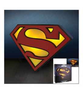 LÁMPARA SUPERMAN LOGO