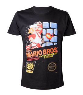 CAMISETA MARIO BROS RETRO