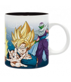 TAZA SAIYANS & PICCOLO DRAGON BALL