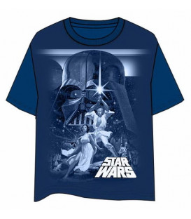 CAMISETA STAR WARS CLASICA A NEW HOPE
